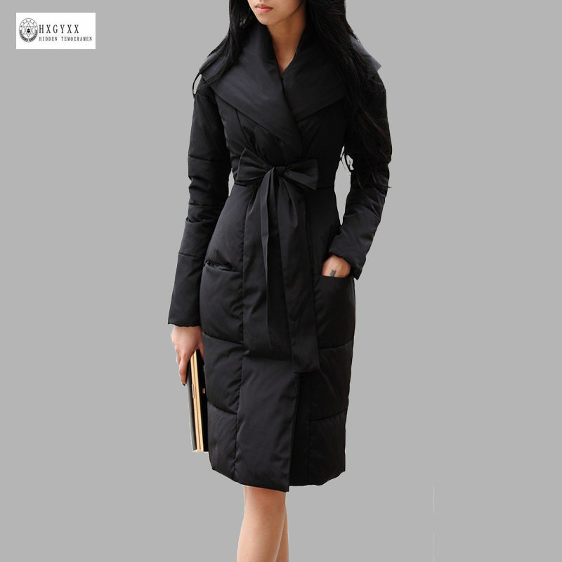 2017 New Arrival Women Winter Down Coat Warm Padded Long Outerwear Female Duck Down Jackets Ladies Fashion Clothes 595(China (Mainland))