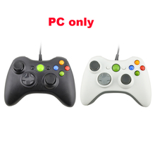 2pcs PC USB Wired Game Controller Joystick Vibration for PC Gamepad NOT compatible for xbox 360 PC ONLY(China)