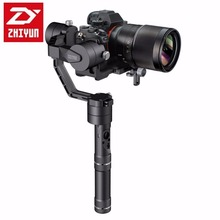 DHL Zhiyun Crane Professional 3 Axis Handheld Gimbal Camera Stabilizer for DSLR Canon SONY A7 Panasonic Cameras Load 1800G(China)