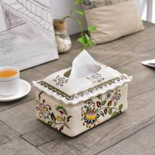 European Home Furnishing manager recommended decorative ceramic crafts creative ceramic ceramic ornaments box box(China)
