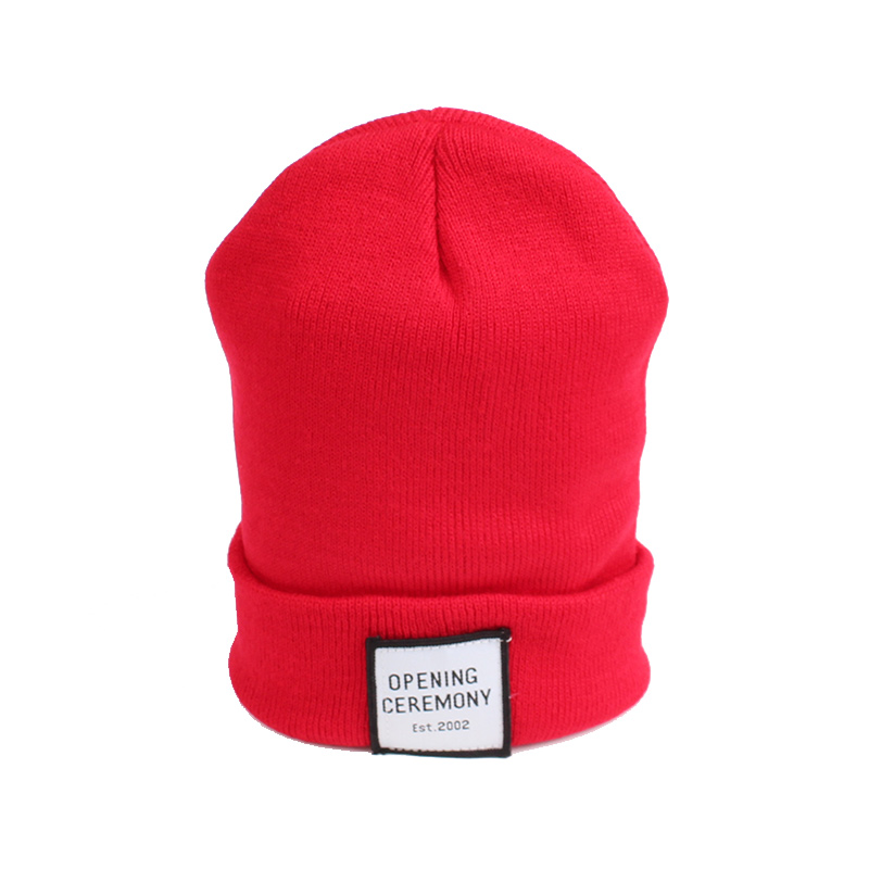 Knitted Cotton Women Beanie Hats Fashion OPENING CEREMONY Women Hats Autumn Winter Warm Female Hat Letter Hip Hop Women Skullies (6)