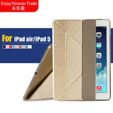 For Apple iPad Air / iPad 5 Smart Sleep Case Cover, Ultra Slim Designer Tablet Leather Cover For iPad Air / ipad5 Case