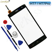 "5.5"" HT7 Pro Touchscreen TP Front Panel For Homtom HT7 HT7Pro Touch Screen Sensor LCD Display Digitizer Outer Glass Replacement(China)"