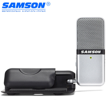 Original Samson Go Mic Mini USB Microphone Portable Video Recording Condenser Microphone Clip Type for Computer Laptop Pc