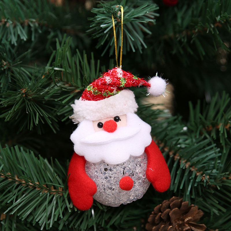 New Year Christmas Decoration for Home accessories Glowing EVA Snowman Nightlight Snowman Christmas Tree gifts Navidad Natal (6)