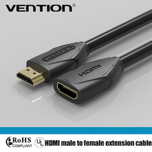 Vention HDMI Extension Cable 1.5m, Male to Female 4K 3D 1.4v Cable for HD TV LCD Laptop PS3 Projector computer monitor extending