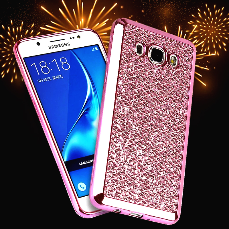 Bling Powder Case Samsung Galaxy A310 A310F/A510 A510F/A710 A710F A3 A5 A7 2016 version Soft TPU Cover Glitter Phone Bag