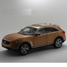 1/18 Infiniti QX70 FX Series FX50 2014 Diecast Model Cars Cross SUV Hot Selling Alloy Scale Models Limited Edition