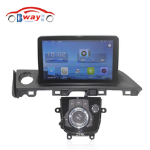 "Bway 9"" Quad core car radio gps navigation for 2017 Mazda ATENZA android 6.0 car DVD video player with Wifi,BT,SWC,DVR"