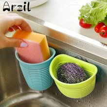 Kitchen Storage Basket Bathroom Toothbrush Toothpaste Holder Sucker Suction Wall Hanging Basket Small Objects Wall Mounted Type(China)