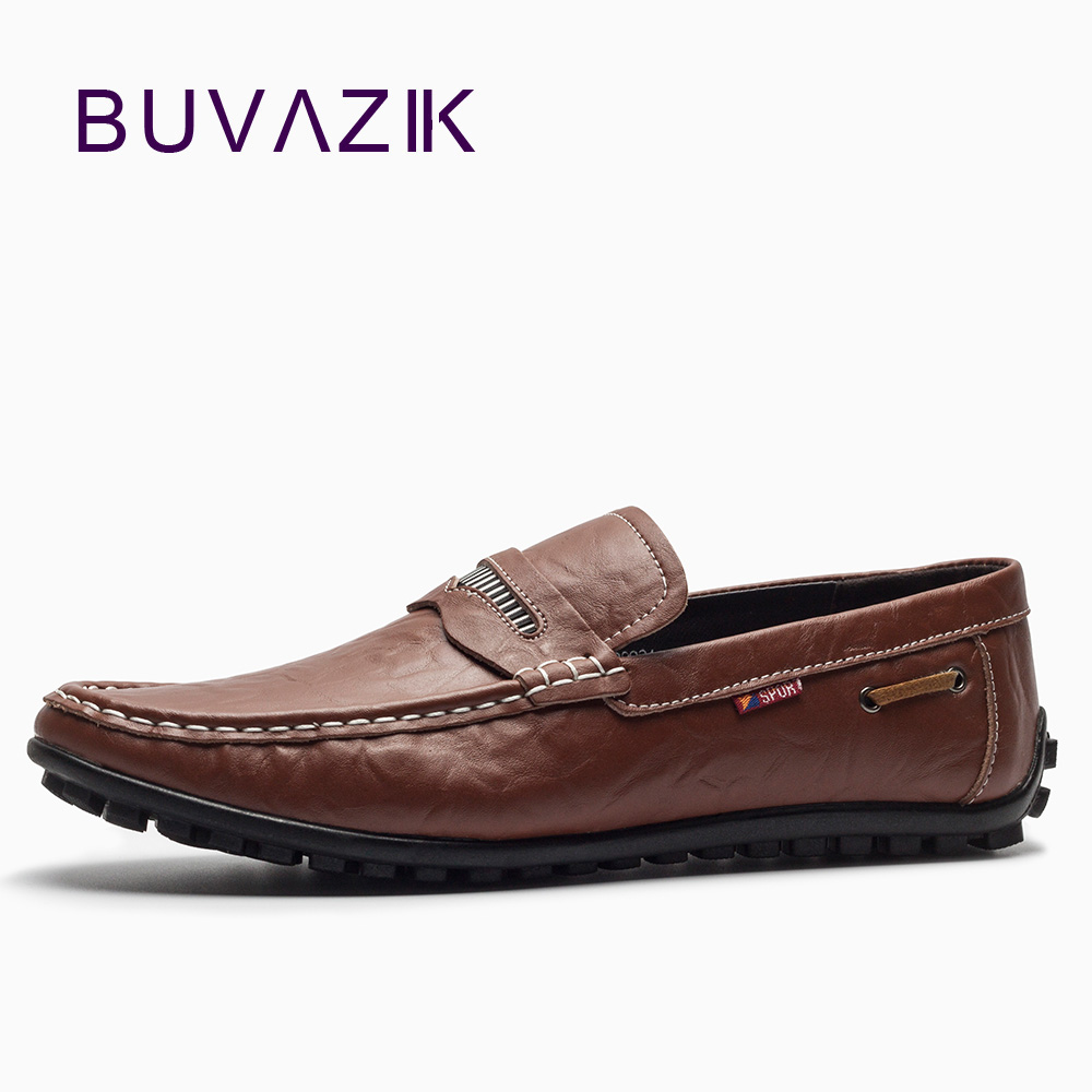 2018 man leather casual shoes brand casual italian style mens driving shoes genuine leather loafers mens moccasin slippers<br>