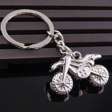 METAL RACING MOTORBIKE MOTORCYCLE KEYCHAIN KEYRING KEY CHAIN RING FOB 4S STORE GIFT BABY520(China)