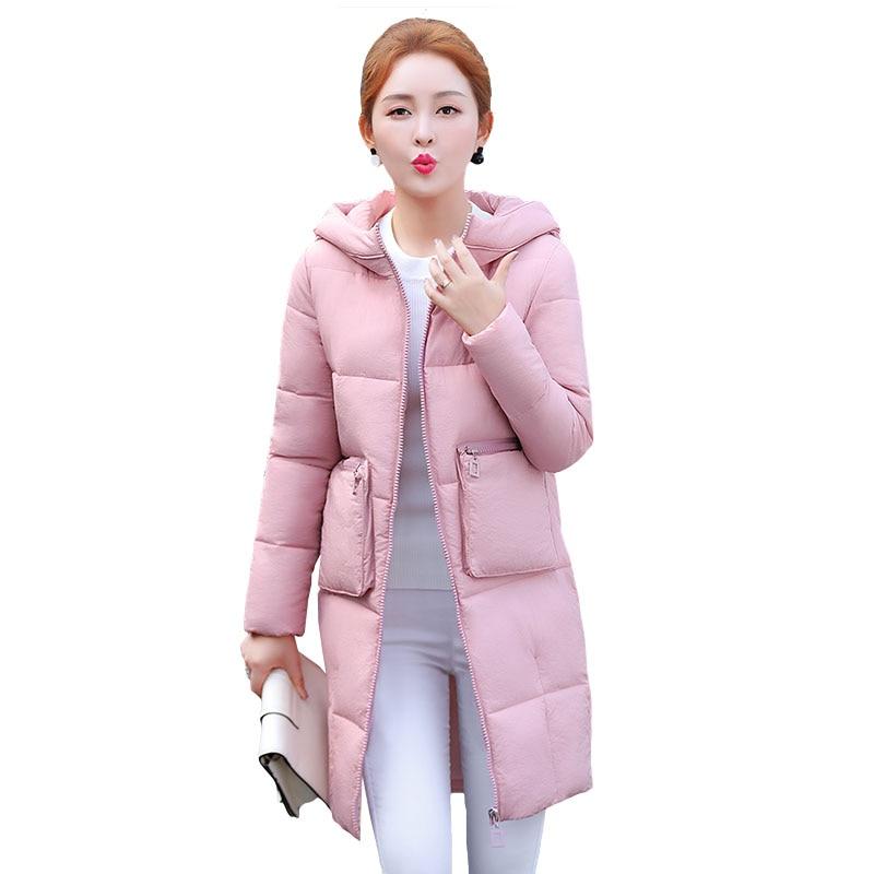 2017 new winter coat female Korean long coat in Europe are thick cotton padded jacket cotton students WU41Îäåæäà è àêñåññóàðû<br><br>