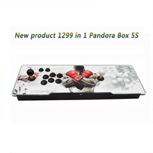 2018 Hot Sale 1299 in 1 5S TV jamma arcade game console with box 5s VGA HDMI output Pandora box 5S(China)