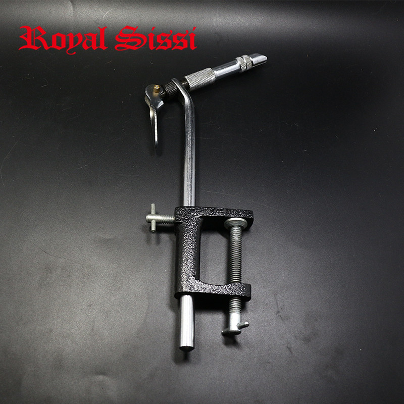 Hot 1set AA Vise Chrome Fly Tying Vise/ streamside fine steel hardened jaw tying vise with C-Clamp/ fly fishing tying vise&amp;tool<br><br>Aliexpress