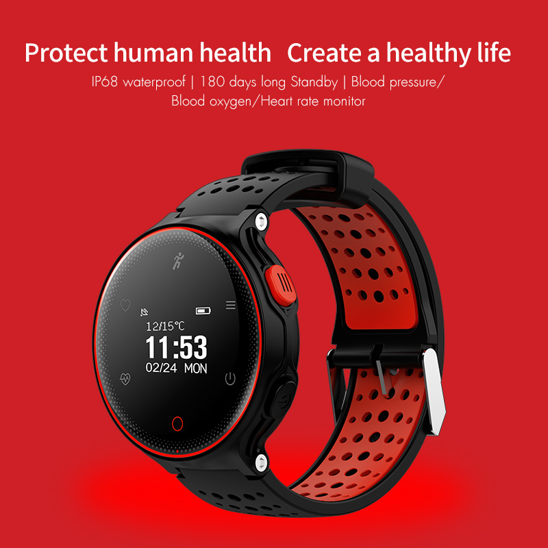 X2 Smart Watch IP68 Waterproof 4.0 Bluetooth 0.96 Inch Blood Pressure Tracker Heart Rate Sleep Monitor For Android IOS (12)