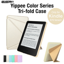Case for Kindle (7th Gen) $79 Version 2014 Released ,ESR Yippee Colour [Ultra Slim][Light Weight] PU Leather Magnetic Cover