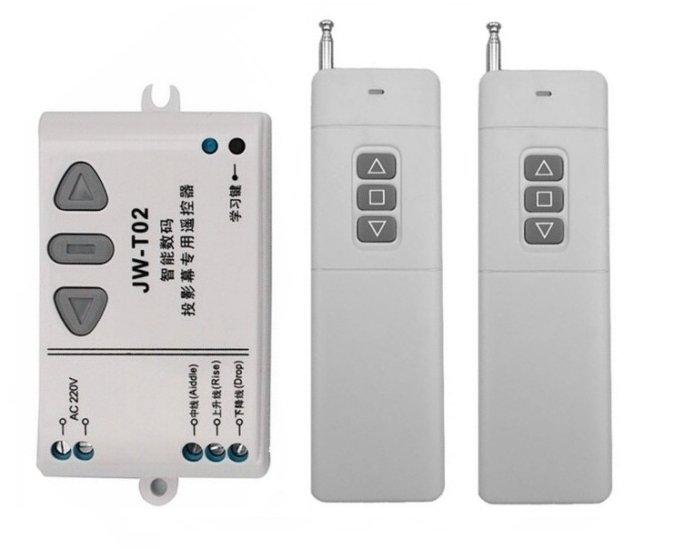 AC 220V Motor RF Wireless Remote Control Switch System,315MHZ or 433MHZ 220V UP&amp;DOWN Remote control/Motor reversing controller<br><br>Aliexpress