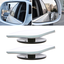 2017 Car Rearview Mirror Safety Blind Spot Mirror 360 Degree Adjustable Wide Angle