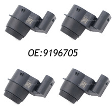 New 4PCS PARKING SENSOR PDC FOR BMW 1 Series 3 Series X1 Z4 E81 E82 E87 E88 E90 E91 E92 E93 R55 R56 R57 OEM 66209196705 9196705