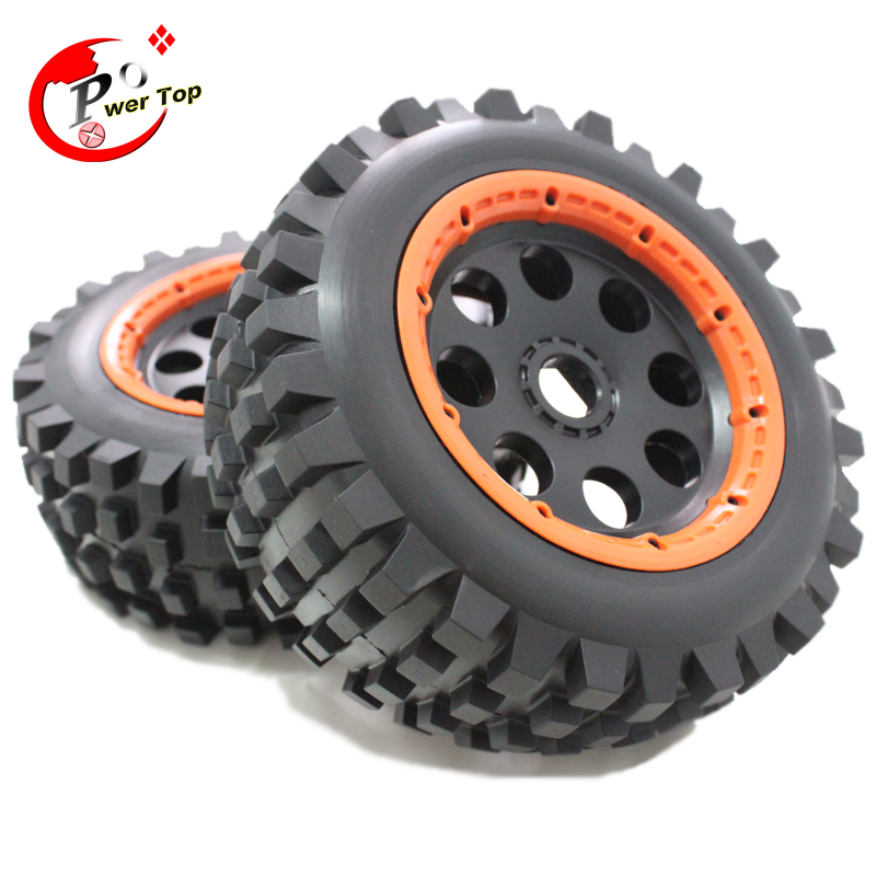 King Motor Baja T1000 desert tire type front completed set (Front) for HPI BAJA 5T Parts Rovan Free Shipping<br>