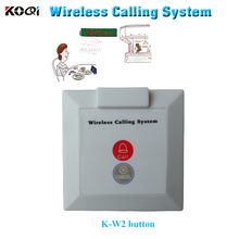 wireless call bell button K-W2 CALL CANCEL for wireless pager system buzzer install on the wall-mounted