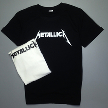 2017 new summer metal band t-shirts METALLICA short sleeve T-shirt heavy metal music casual 100% t shirt Free Shipping