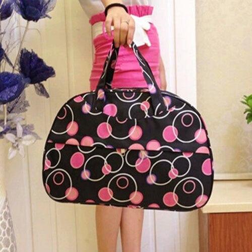 New Arrival 2016 Fashion Waterproof Luggage Handbag Women Travel Bag Portable Travel Bag High Quality<br><br>Aliexpress
