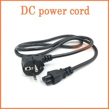 1.5m EU / Europe 3Pin Power Cord Cable EU 3Prong Laptop AC Adapter Lead 3Pin cable(China)