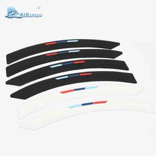 Airspeed Silicone Bumper Strip Protector Tyre Edge Fender Protection Guards Stickers for Audi BMW Benz Volvo Volkswagen(China)