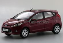 Light Purple 1:18 Ford  FIESTA  2011 Hatchback Kids Classic toys Mini Car Brinquedos Model Car Kits