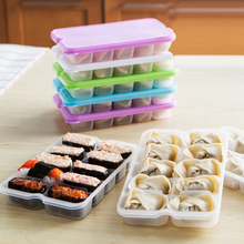 Sushi Food Container Storage box 10 grid Basket organizer home kitchen Gadgets Items Accessories Supplies Products