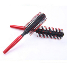 New Plastic Special Comb Brushes For Women Cheap Red Brush For Hair Heat Resistant  Hairbrush Styling Tools