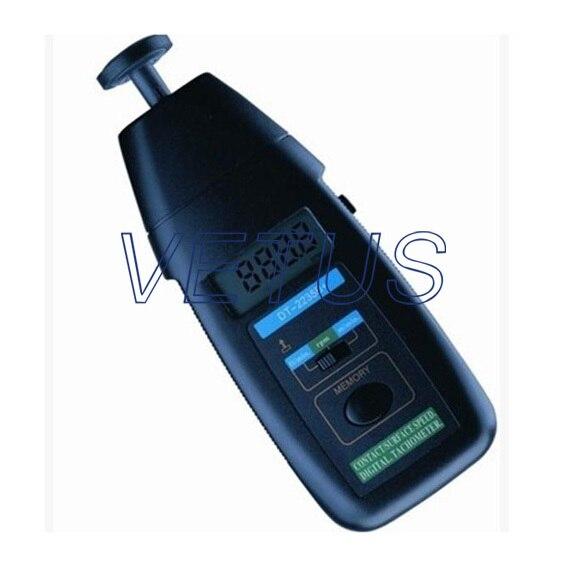 DT-2235B contact tachometer, digital tachometer with 0.5-19999RPM, 0.05-19999m/min<br><br>Aliexpress