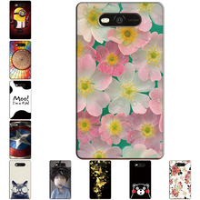 Hard Case for Nokia Lumia 820 Thin Back Cover UV Painting PC Shield Protective Case for Nokia Lumia 820 Cute Flower Phone Bags