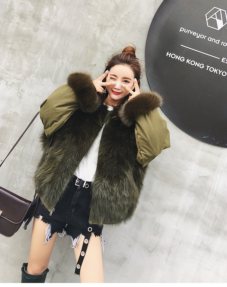 new styles fox fur jacket for women (16)
