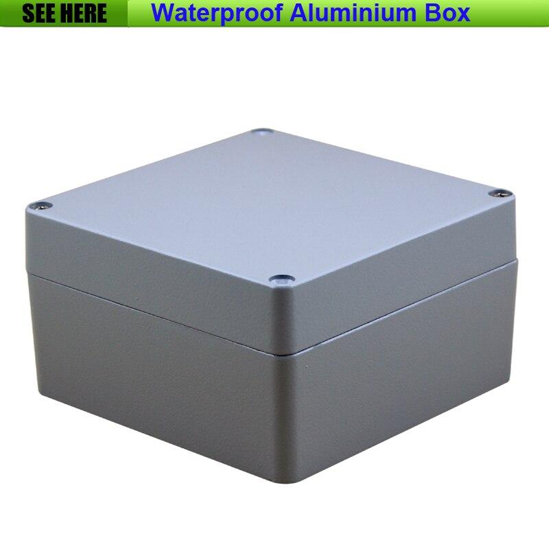Free Shipping Small SIze Waterproof Box IP67 Aluminium Waterproof aluminium electric box 160*160*90mm<br>