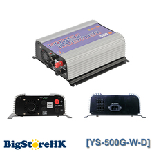 500W Grid Tie Power Inverter for 3 Phase DC To AC Wind Turbine MPPT Pure Sine Wave Inverter Build In High Wind Protection