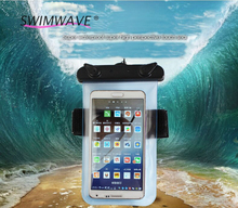 Transparent Waterproof Phone Pouch Swimming Beach Lightweight Durable Bag 3 Layer Sealing Sundry Package Case for Water Sport