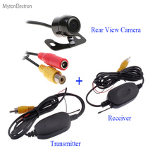 Rearview CCD Camera and 2.4GHz Wireless RCA Transmitter & Receiver Car Video Kit For Car DVD Parking Monitors