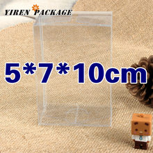 10 pcs/lot5*7*10cm clear box / package boxes / wedding favor / first-rate material / gift container