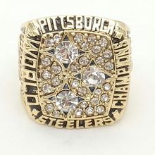 Wholesale Bottom Price for Replica Newest Design 1978 Super Bowl Pittsburgh Steelers Championship Rings