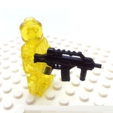 G36K Submachine City swat gun police military tactical lepin model weapons accessories lepin mini figures original Block toy