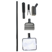 ZHIYANG 4 in1 Aquarium Fish Tank Clean Tool Fork Gravel Rake Fishing Net Cleaning Sponge Tank Cleaning Tools Best Price