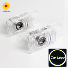 2pcs/lot Car Courtesy ghost shadow welcome Laser logo projector door light For Honda civic 2011-2015(China)
