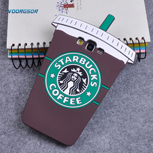 VOONGSON 3D Cartoon Starbuck Coffee Cup Soft Silicone Back Cover Case For iPhone 5 5s 6 6s Plus 7 Plus Originality Phone Cases
