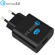 Buy Original Qualcomm Quick charge 3.0 EU Wall USB Charger samsung iPhone Fast Travel Charger Adapter XIAOMI SONY for $15.76 in AliExpress store
