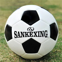 SANKEXING Soccer Ball Professional Match Training Standard Size 5 Soccer Ball Outdoor Team Sports Football Balls Leather Soccers(China)