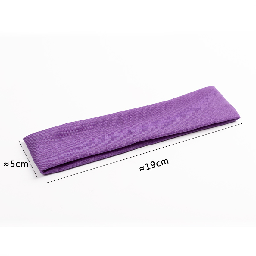 1PC Fashion Style Absorbing Sweat Headband Candy Color Hair Band Popular Hair Accessories for Women