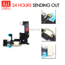 ORIGINAL Black White USB Charging Dock Flex Cable For iPhone 5 5G Charger Port Connector With Audio Jack Replacement Parts